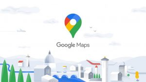 Google Map Application trajet voiture