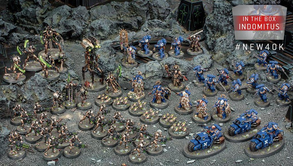 Warhammer 40k Indomitus La boite complète avec figurine