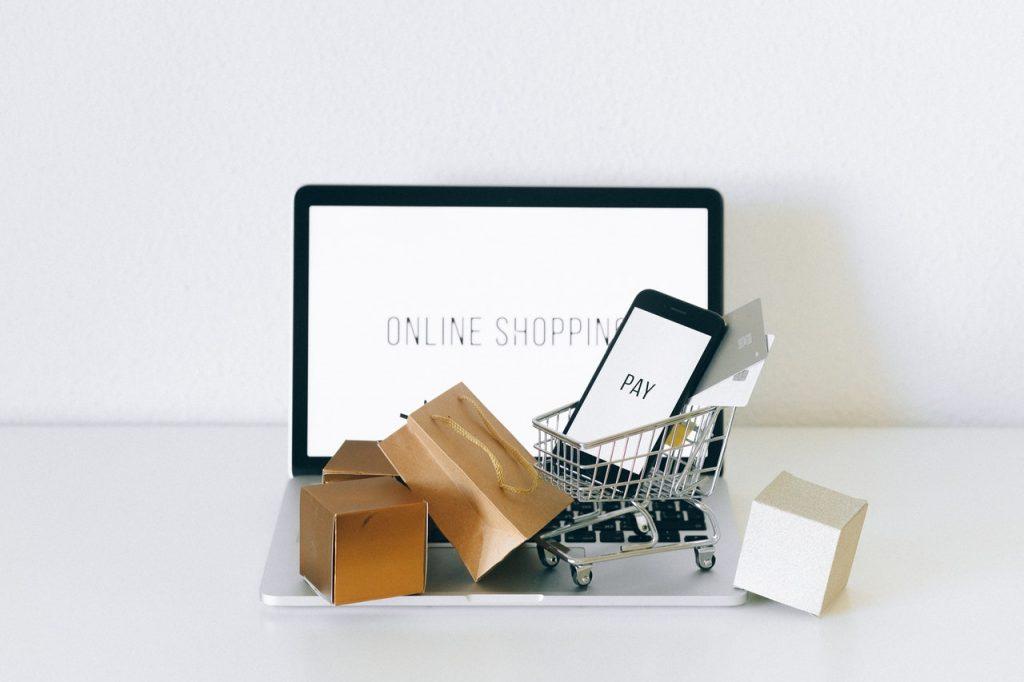 Achat en ligne livraison shopping