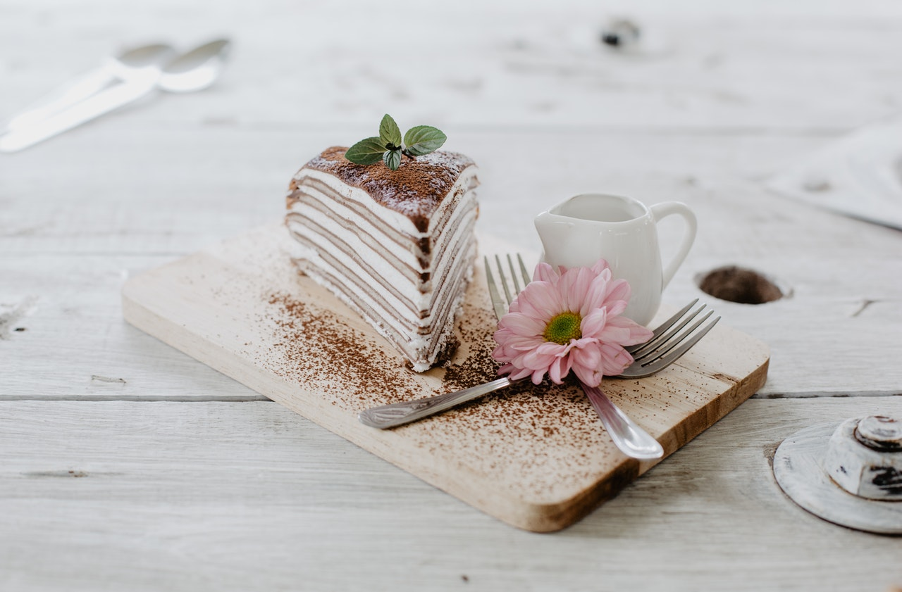 Gâteau de crêpe, mascarpone chocolat